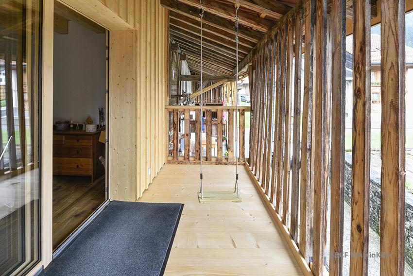 Grange protégée - Saudan Tinguely Architectes SARL