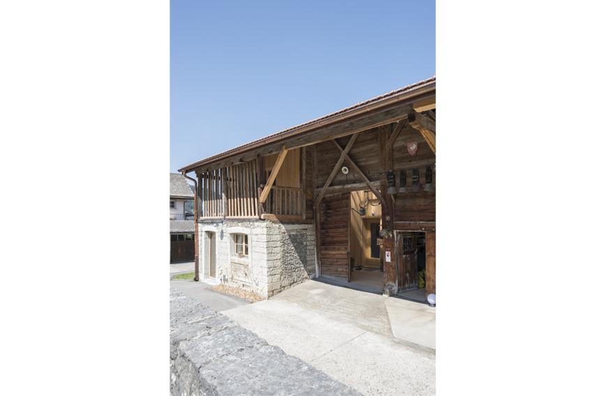 Grange protégée Grandvillard - extérieur 2