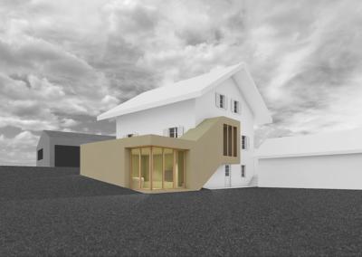 extension maison, Pringy