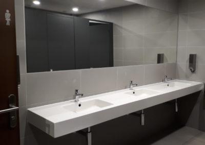 Rénovation sanitaires, Bulle