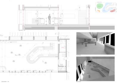 Salle co2 – espace bar